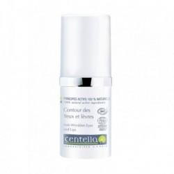Crème Oog- en Lippenomtrek Bio Centella