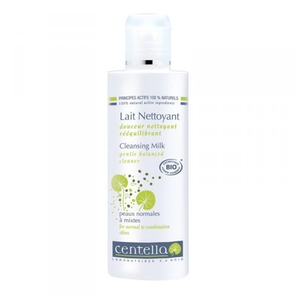 Reinigingsmelk Aangezicht normale tot gemengde huid Bio Centella
